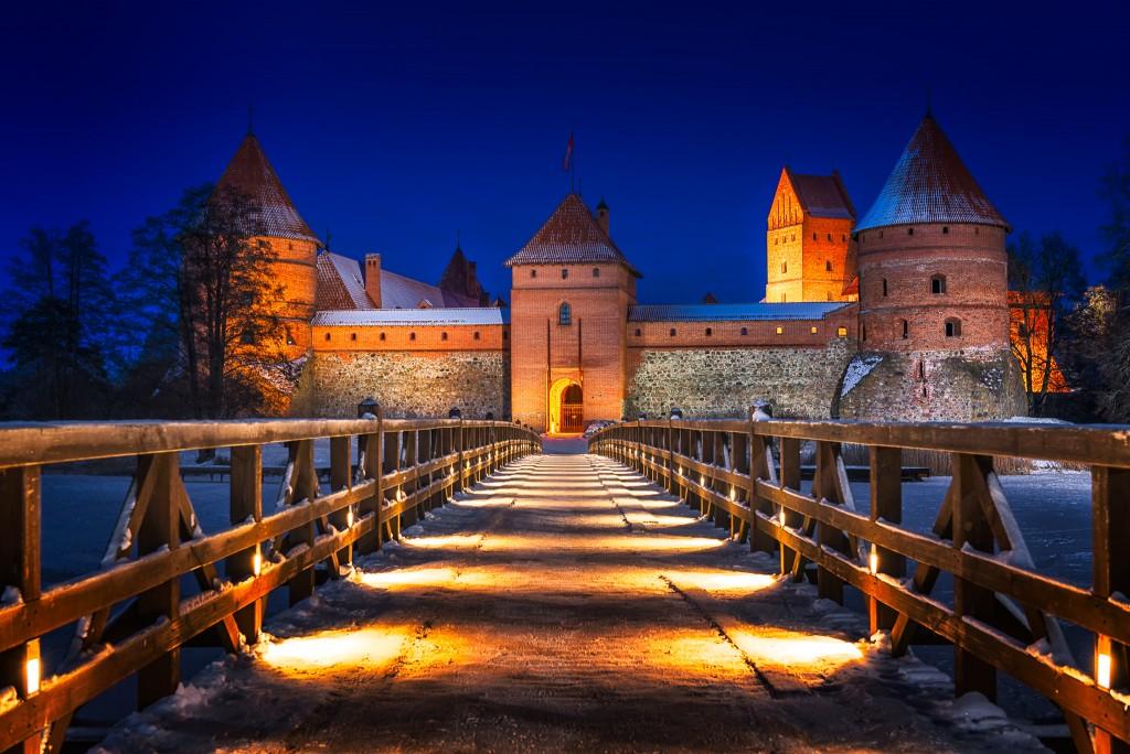 Lithuania-Trakai-Castle-Winter