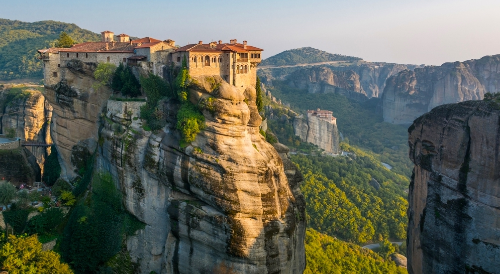 Monastery of Roussanou, UNESCO world heritage Meteora, Greece